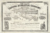 Capitol Hydraulic Company incorporated by the Legislature of Kansas Territory, Feb. 11th, 1860 :...
