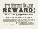 Five hundred dollars reward!