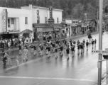 Estes Park High School band leads the 3R Riders