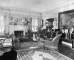 Interior, Crawford Hill house