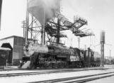 C.B. & Q. 5626 at coaling station, Denver, Colorado, 2:05 P.M.