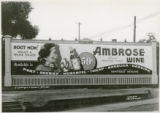 Billboard for Ambrose Wine