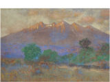 Sierra Blanca [art original] :evening, Southern Colorado.