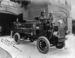 Gramm Truck the first motor apparatus on the C. S. F. D.