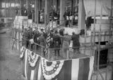 Laying of the cornerstone for the Denver City and County building, performed by the members of the...