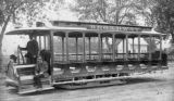 Broadway Cable Line trolley car