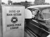 Drive up book return