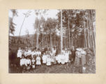 Union Sunday School picnic in Happy Hollow, Conifer, Colo.