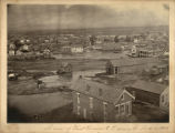 A view of west Denver C.T. during the flood in 1864