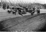 Motorcycle race track at Tuilleries [sic]