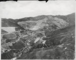 "Utah Copper Mine located at Bingham, Utah, 27 miles from Salt Lake City, ""The Center of..."