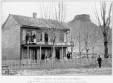 Oldest house in Golden, Colorado built in 1859, constructed of hewn logs, since weatherboarded.