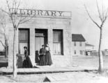 First library in Monte Vista, Colo.