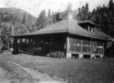 Mary McLean Bancroft home at Evergreen, Colo.