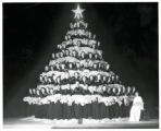 West High School singing Christmas Tree