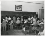 Park Hill School Students and a Teacher in their classroom.