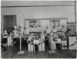 Park Hill School students playing cafeteria