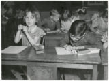 Twenty-Forth Street School students in classes