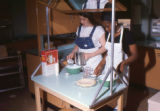 Thomas Jefferson High School students in a home economics class