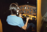 John F. Kennedy High School flight training class