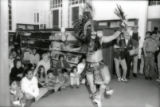 Woodbury Branch Diversity Days Native American dancer