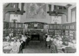 Boys in Decker Branch reading room
