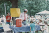 Decker Branch 75th Anniversary celebration lemonade booth