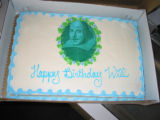 Decker Branch Shakespeare Festival cake
