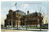 Postcard of Old East High School