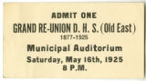 Grand Re-Union D.H.S. (Old East) Ticket