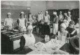 South High School Girls Home Economics Class