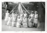 South High School girls with May Day pole