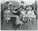 Ebert School doll making