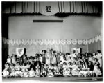 Ebert School cast of school play