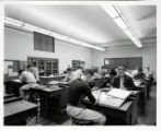 South High School mechanical drawing class