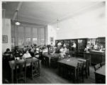 Fairmont School students in library
