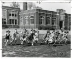 Fairmont School girls race