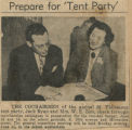 Tent party article