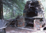 Winks Lodge: Original WPA fire pit