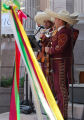 Members of Mariachi Sol De Mi Tierra at Cinco de Mayo.