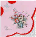 To My Valentine - Vintage Card
