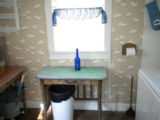 Winks Lodge: Summer Kitchen, Now Bathroom