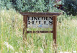 Lincoln Hills sign