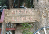 Winks Lodge sign