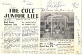 Cole newspaper front page