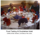 Food tasting at Doubletree 1
