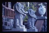 Molly Brown House, guardian lions