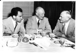 Richard Nixon, Dwight D Eisenhower, and Mr. Dulles at the Brown Palace