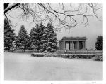 Cheesman Park Pavilion in Winter