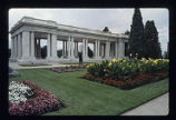 Cheesman Park-Congress Park, pavilion before